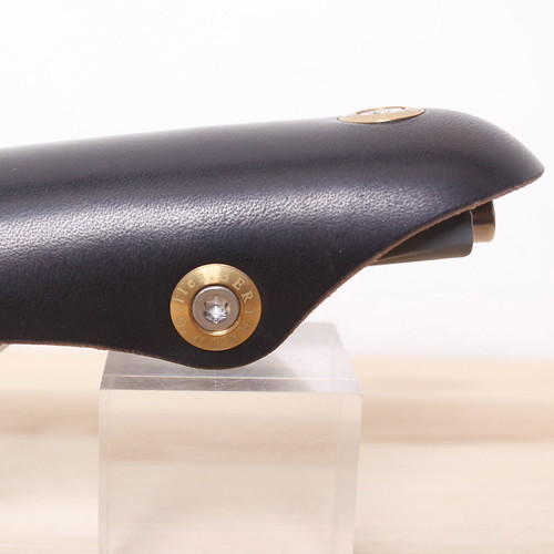 Gilles Berthoud / Soulor / Leather Saddle