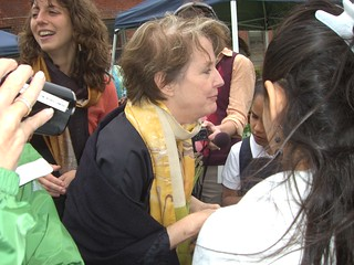 Alice Waters visits Billings Forge in Hartford | by WNPR - Connecticut Public Radio