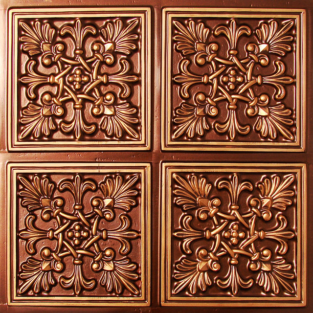 decorative antique copper ceiling tile 401at