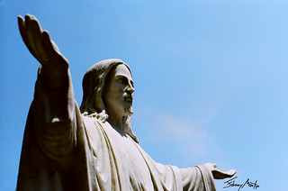 Pentax 50mm 1.2 Jesus with Outstretched Arms | by Johnny Martyr