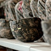 Army combat helmets