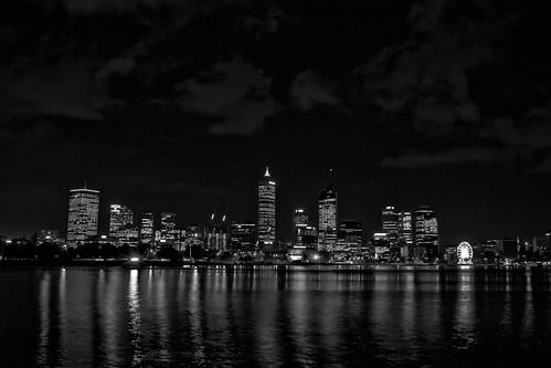 Black and White City Skyline | PIP Narrows Night Walk ...