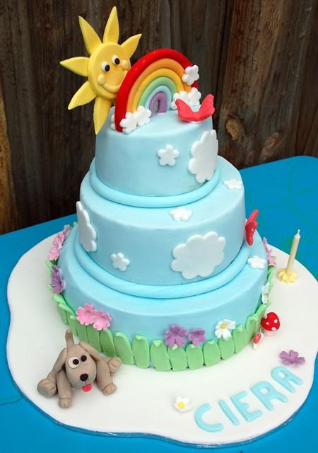 Birthday 2 Kg Cake Images : Rainbow Cake - Ciera s 1st Birthday Liezl Del Castillo ...