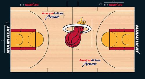 Miami Heat Court.jpg | Paul | Flickr