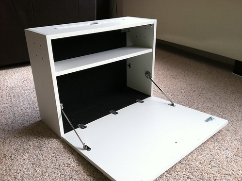 Wall Cabinet Computer Desk For The Kitchen
