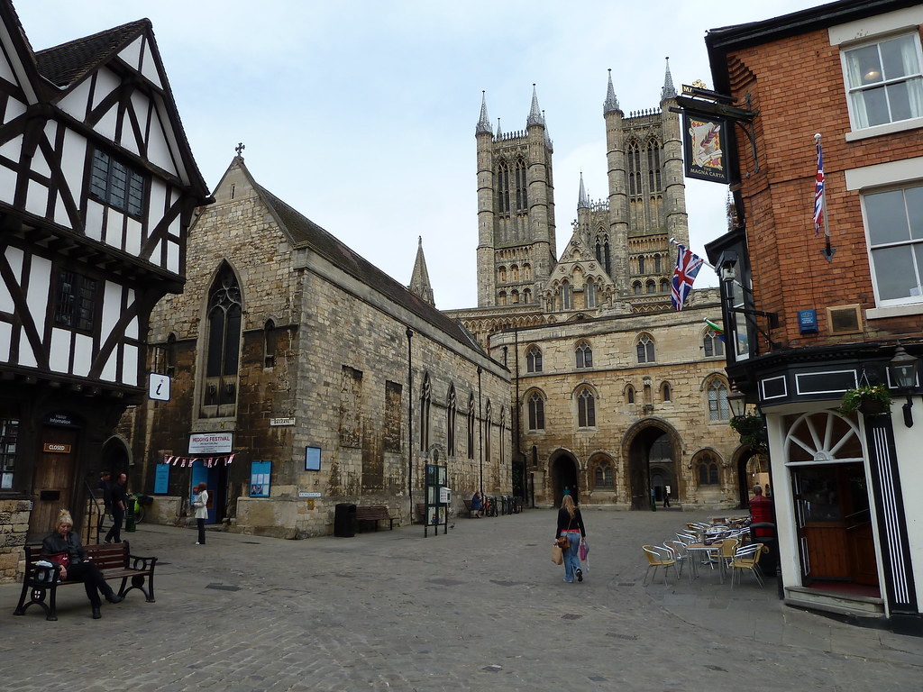 Lincoln Cathedral And The Parish Church Of St Mary Magdale