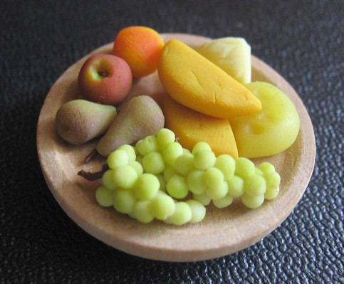 cheese and fruit platter | by Melly Kay