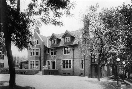 Brandeis Mansion From The Corner 1920s Brandeis Mansion