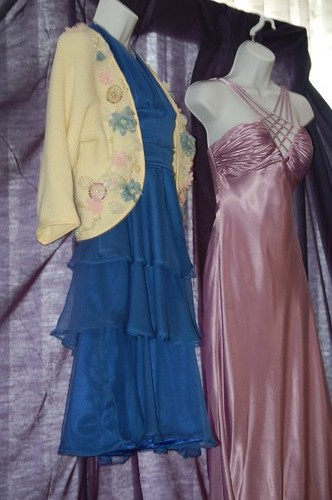 Twilight prom   Bella\'s blue prom dress and Angela\'s gown fr…   Flickr