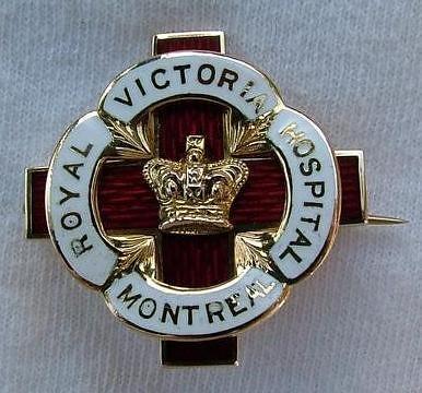 Royal Victoria Hospital School of Nursing Graduation Pin 1