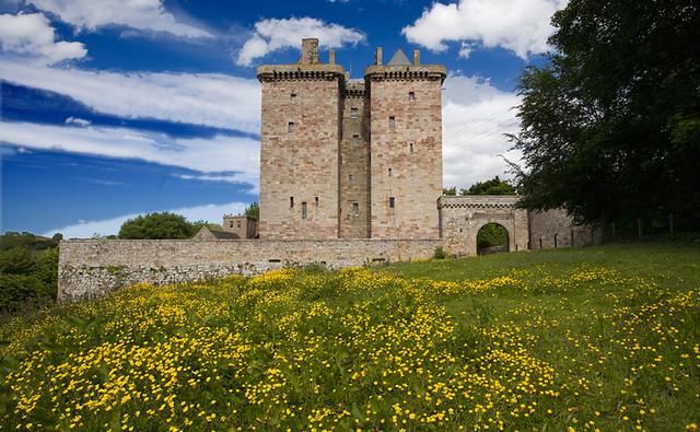 Borthwick Castle - Midlothian Scotland