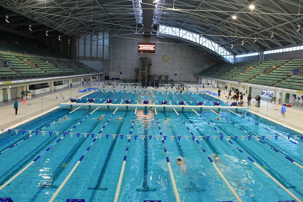 Sydney Aquatic Centre Racing Pool The Sydney Olympic Park Flickr