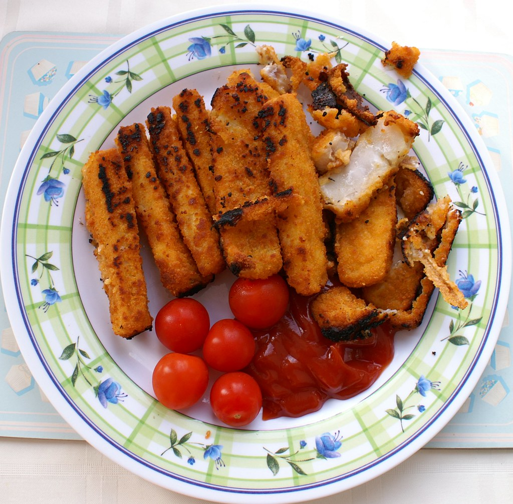 Bbq cooked fish fingers not the best way to cook fish for Best fish to bake