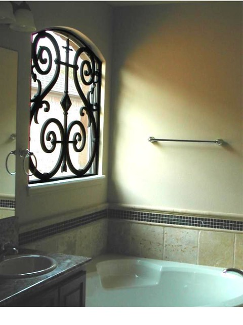 Faux Wrought Iron Custom Window Grill This Window