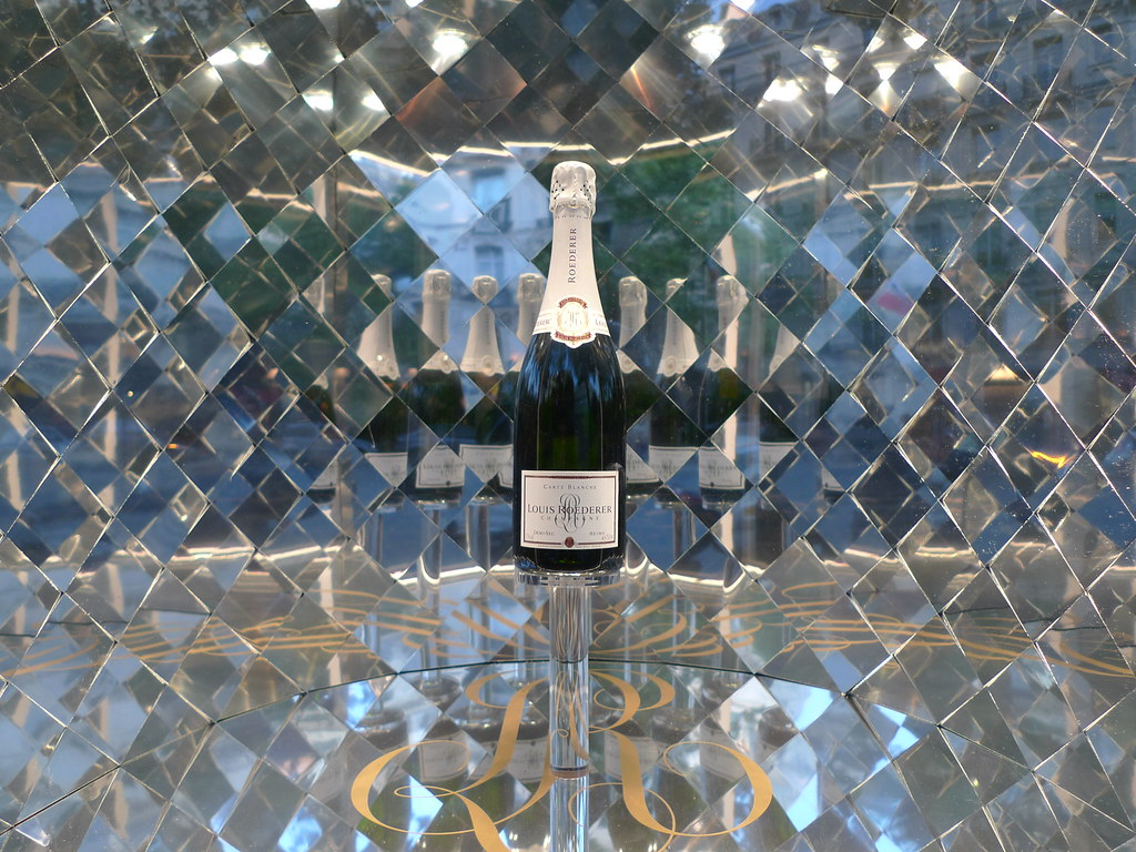 Louis roederer ao t 2009 flickr for Miroir 3 pans