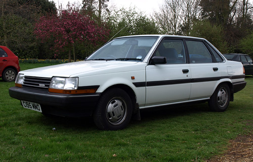 1985 86 Toyota Carina Ii Gl Auto Saloon Update 2012