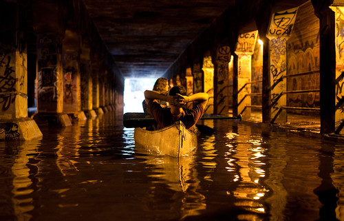 Canoe in Krog Tunnel | by Caroline E Smith