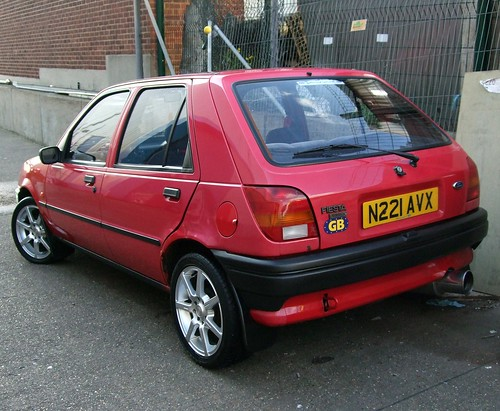 1996 ford fiesta classic my mate at the polish car wash. Black Bedroom Furniture Sets. Home Design Ideas