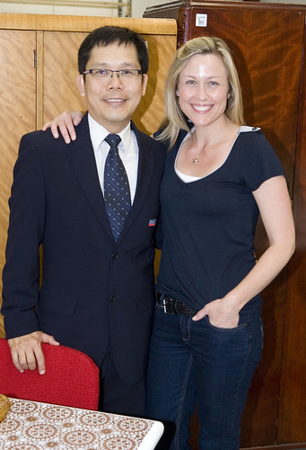Freddy Choo From Salvos Stores And Tara Dennis Tables An