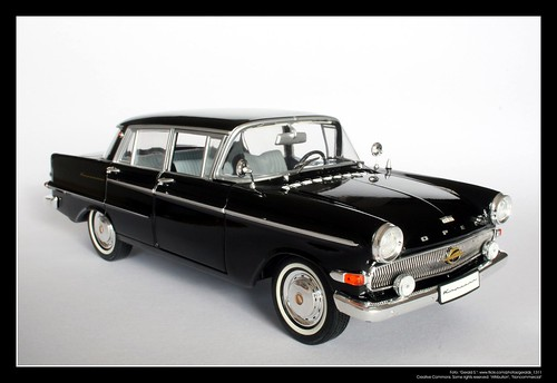 1961 Opel Kapit 228 N 1 18 Revell 01 The P2 Kapit 228 N Came
