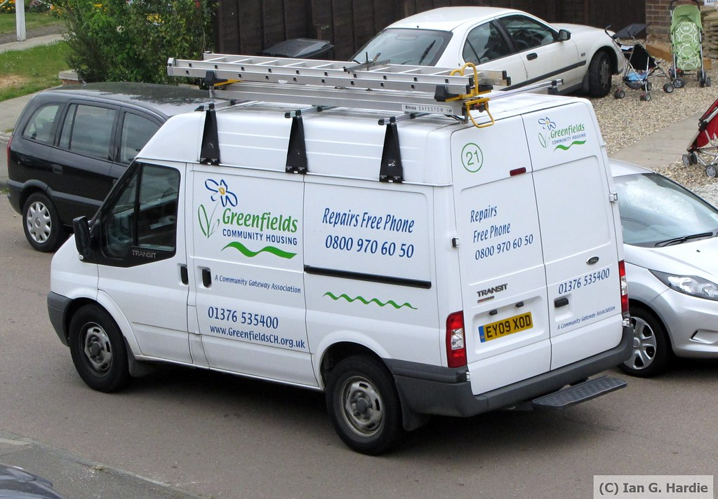 Ey09xod Ey09xod 21 Ford Transit Van Greenfields