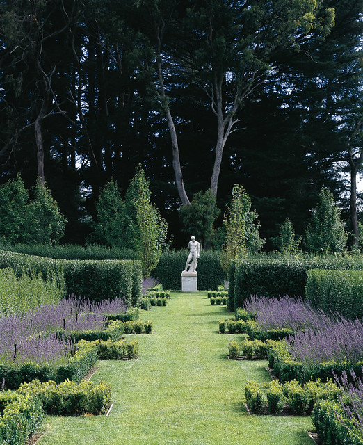 Walk In Garden Box: The Box Walk, At The Foot Of The Batter, Is