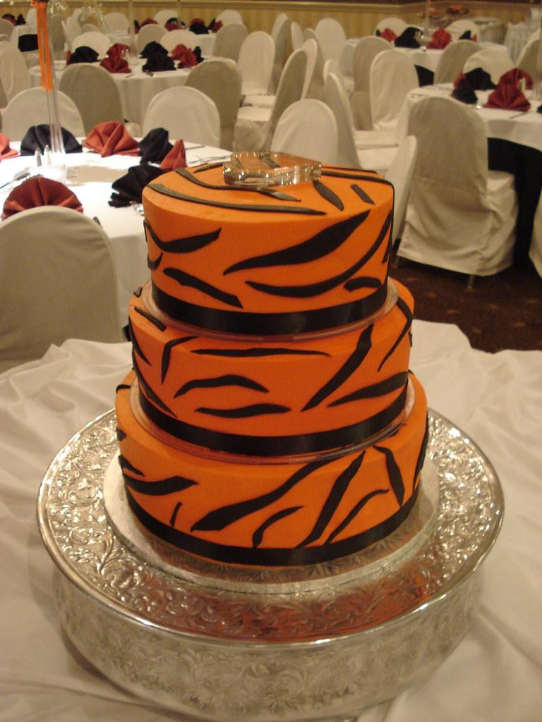 Cincinnati Bengals Wedding Cake