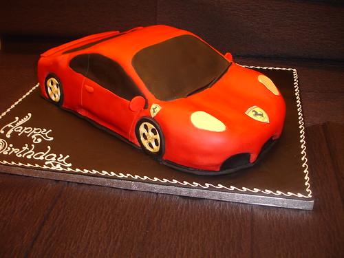 Ferrari Cake Pictures