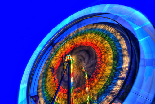 Ferris Wheel Long Exposure in HDR | by Brandon Godfrey