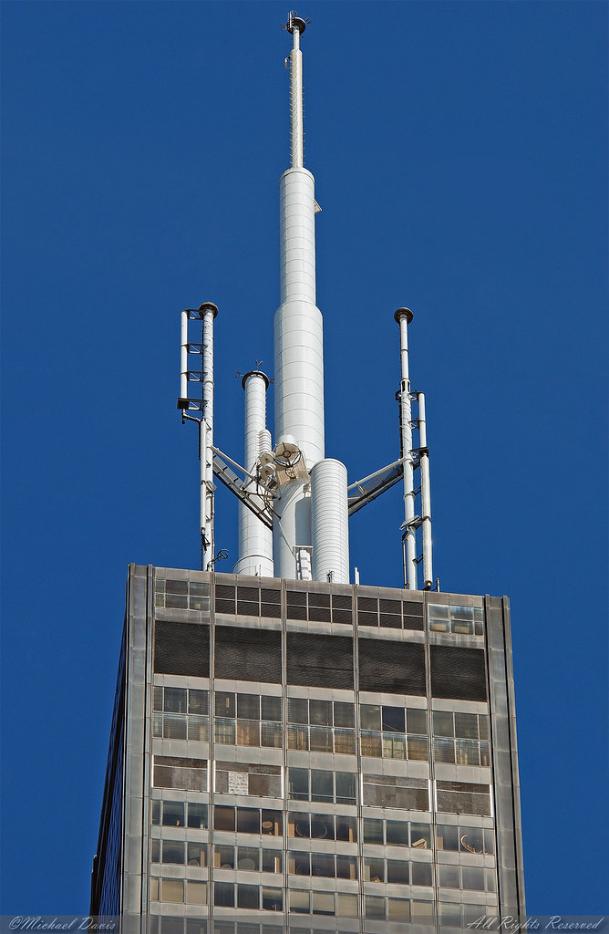 Perfect ... Willis Tower (Sears Tower) **Crown U0026 Mast** | By Michael