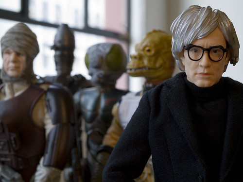 """In the future, everyone will be an intergalactic bounty hunter for 15 minutes."" - Andy Warhol 