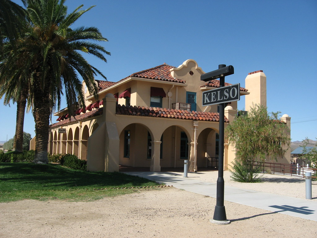 Kelso Depot Mojave National Preserve California The