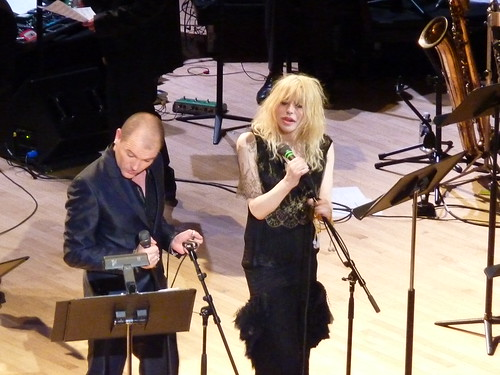 Courtney Love & Gavin Friday at Carnegie Hall | by aphrodite-in-nyc