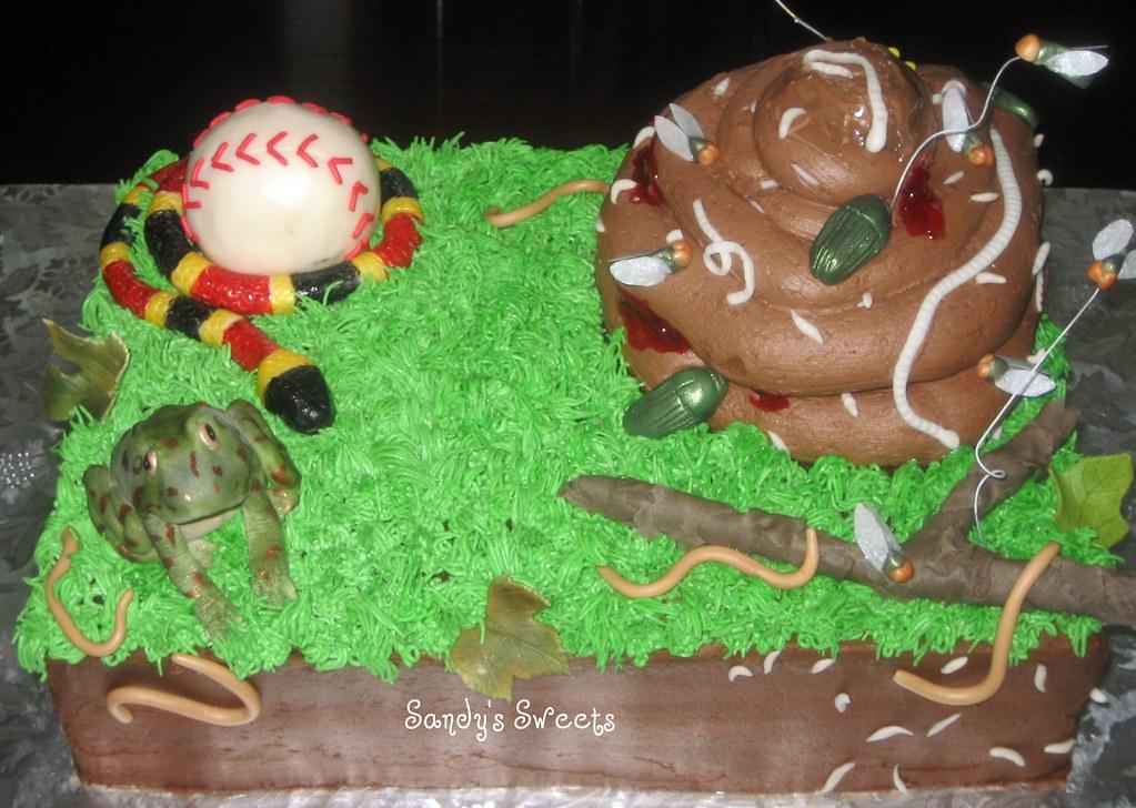 Pile Of Ball Cake