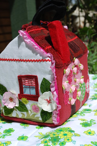 Maeve's fabric dolls house | by happydacks