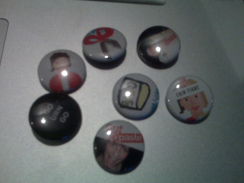 We made buttons for @tinyxl to celebrate #cutandpaste | by BrightMix
