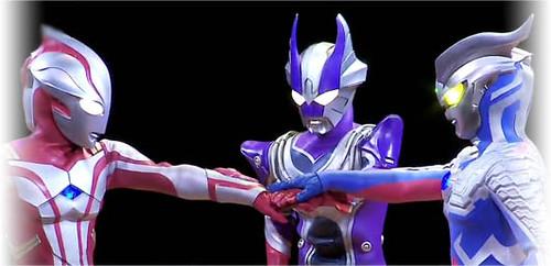 Mebius - Reimon - Zero   Ultraman Mebius Reimon Ultraman ...