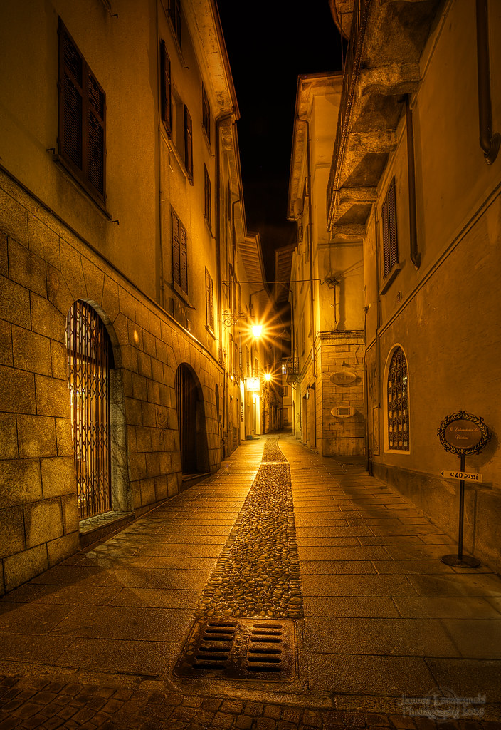 Narrow Streets Of Cobblestone In Restless Dreams I