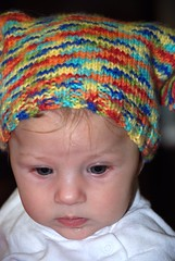 Knitted hat by Aunt Nancy | by T&K Cannon