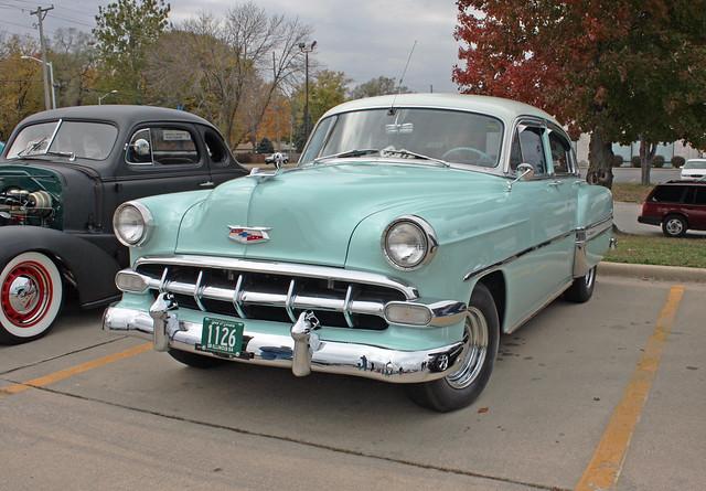 1954 chevrolet bel air 4 door sedan 2 of 5 for 1954 chevy bel air 4 door