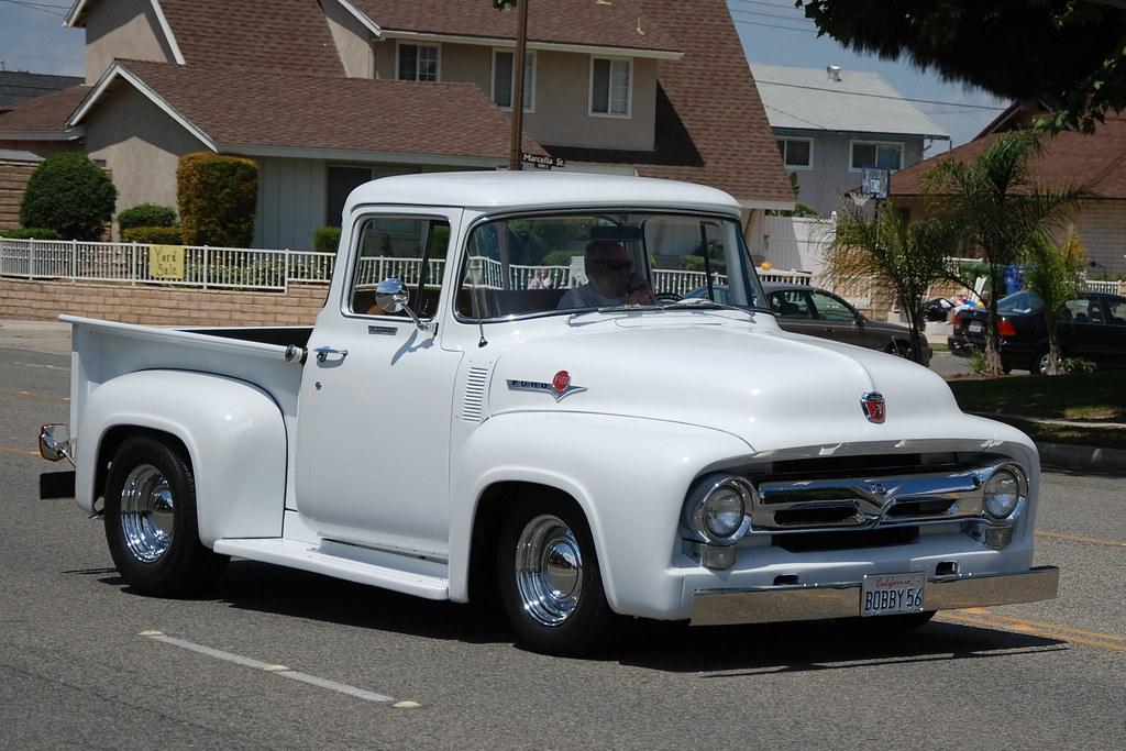 Ford Pickup Truck >> 1956 FORD F100 PICKUP TRUCK | Navymailman | Flickr