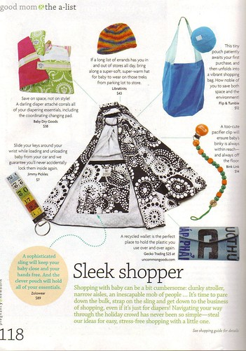 Product Placement for LibraKnits in Pregnancy and Newborn Magazine | by BabySwags