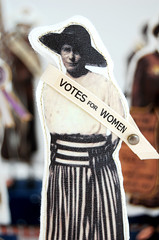Great American Suffragette Folk Art Doll Maude | by Lenae May