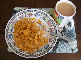 Cornflakes and tea | by Peter O'Connor aka anemoneprojectors