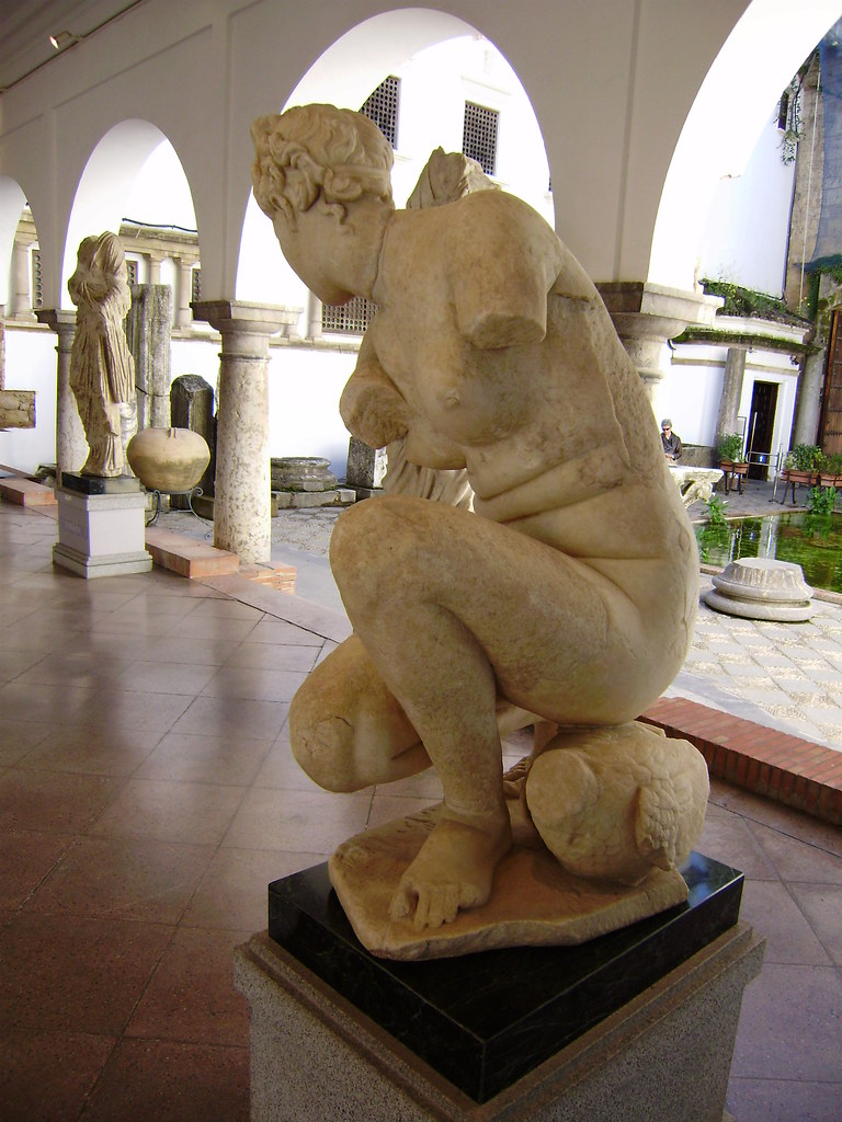Córdoba romana, Afrodita lavándose,Museo arqueológico de C…  Flickr