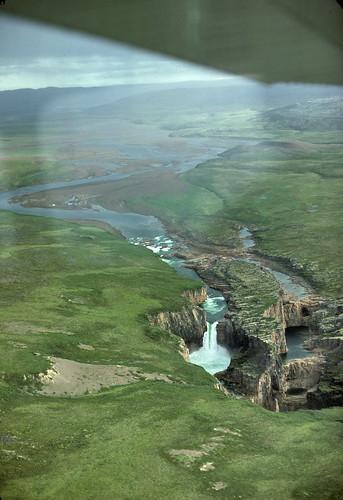 Wilberforce Falls Nunavut At 60 Metres 200 Ft High