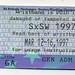 SXSW Wristband Ticket  March 12-16, 1997