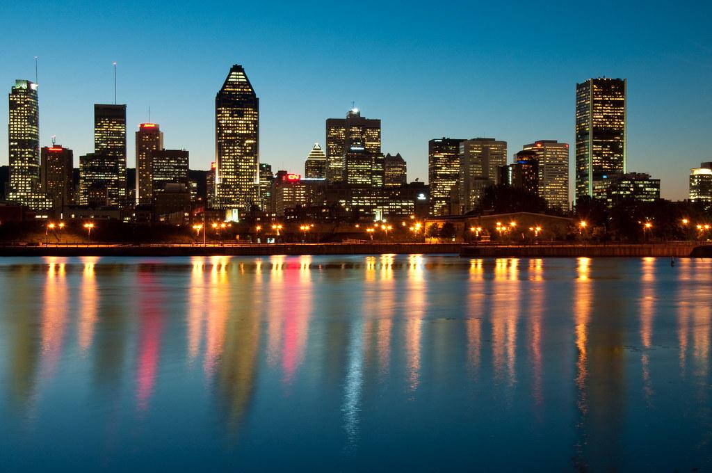 Montreal sunset montreal coucher de soleil sunset - Coucher de soleil montreal ...