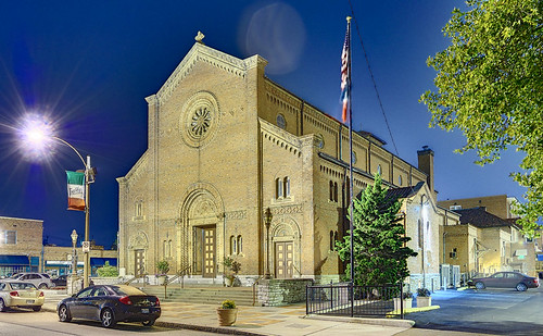 Saint Ambrose Roman Catholic Church, in the Hill neighborh