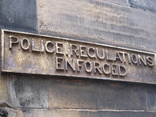 Police Regulations Enforced | by Dave Gorman